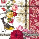 Салфетка за декупаж Rose Lace