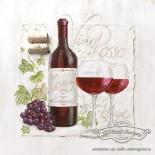 Салфетка за декупаж Vino Rosso