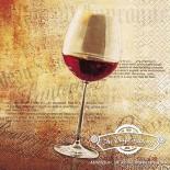 Салфетка за декупаж Classic Red Wine