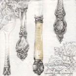 Салфетка за декупаж Cutlery