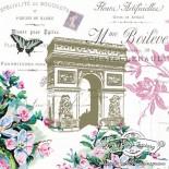 Салфетка за декупаж Arc de Triomphe