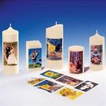Фототрансферна хартия за свещи