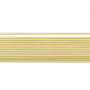Восъчни ленти Злато - 2 мм, 58 бр.