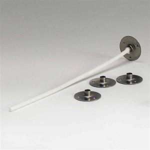Метални основи за фитил 15 мм - 100 бр.
