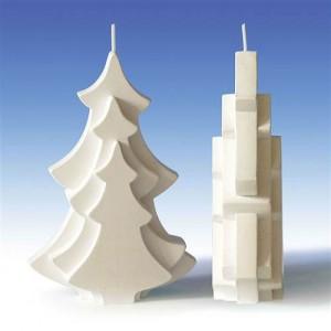Форма за свещи Елха 10х4х15 см