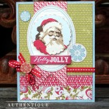 Коледна картичка Believe
