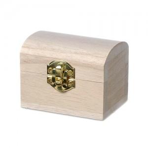 Дървено сандъче за съкровища - мини