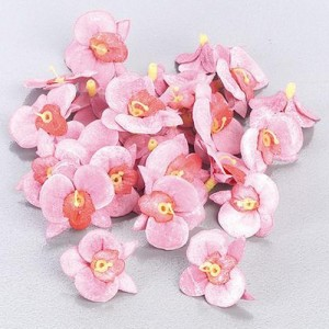 Розови орхидеи за декорация - 26 бр.