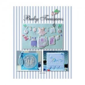 Книга с Pergamano дизайни и модели Baby Treasures