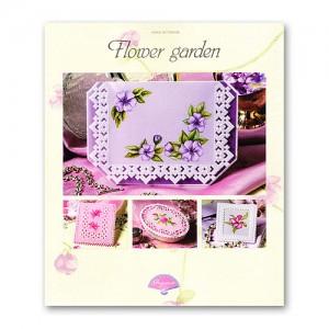 Книга с Pergamano дизайни и модели Flower Garden