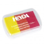 Трицветно Мастило Heyda Yellow - Red