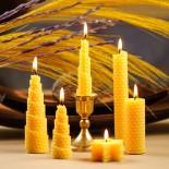 Свещи от основа за пчелни пити