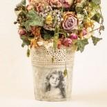 Кашпа за цветя Ретро Романс