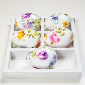 Великденски яйца със салфетки