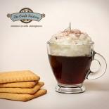 Гел свещ Кафе със сметана