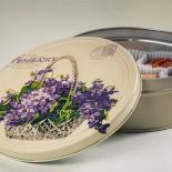 Кутия за бисквити Кошничка с цветя
