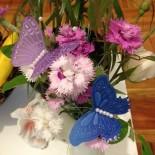 Пергамано пеперуди - цветни