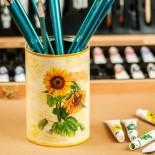 Слънчогледи - кутия за четки и моливи