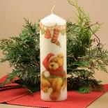 Коледна свещ Плюшено мече